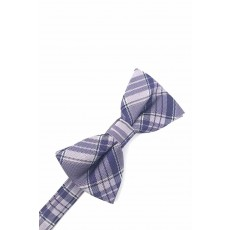 Plaid Bow Tie in Purple by Cardi