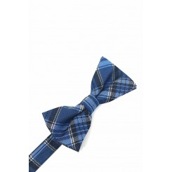 Plaid Bow Tie in Blue by Cardi