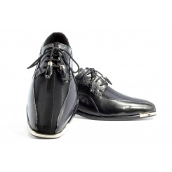 The American - Black Fashion Tuxedo Shoe