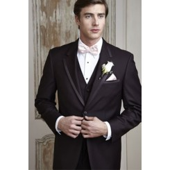 Edge' Chocolate Tuxedo Jacket by Cardi
