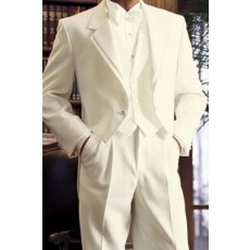 Tailcoat' Ivory Full Dress Tails Tuxedo Jacket by After Six