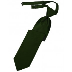 Holly Solid Satin Long Tie