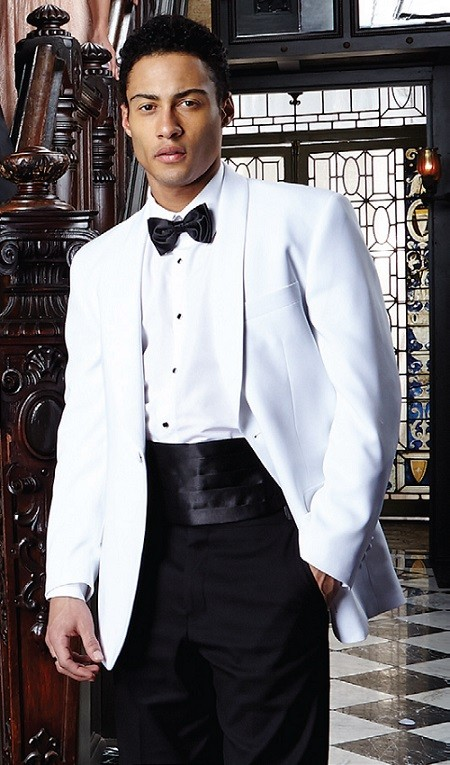 Premiere  White Shawl Dinner Jacket ... ed9592be44a4