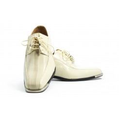 The American - Ivory Fashion Tuxedo Shoe