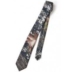 Country Camouflage Long Tie