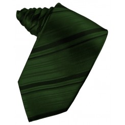 Holly Striped Satin Suit Tie
