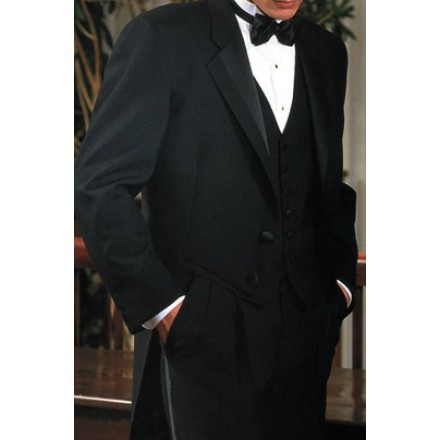 Bridge Tailcoat' Notch Full Dress Tuxedo Tailcoat from Perry Elliis