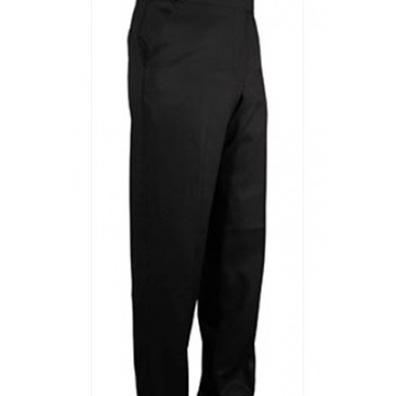 Wool Flat Front Suit Pants -