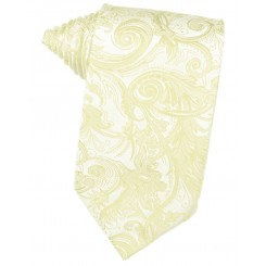 Canary Tapestry Suit Tie
