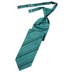 Oasis Striped Satin Long Tie