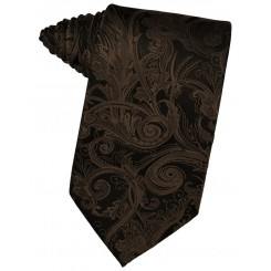 Chocolate Tapestry Suit Tie
