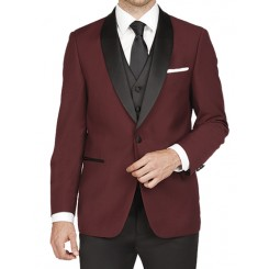 Arlan Wine Shawl Jacket by London Fog