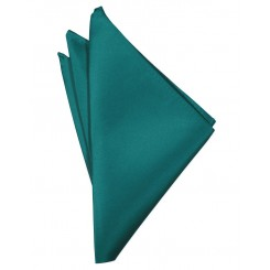 Jade Solid Satin Pocket Square
