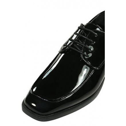 Bellagio - Gloss Black Tuxedo Shoes