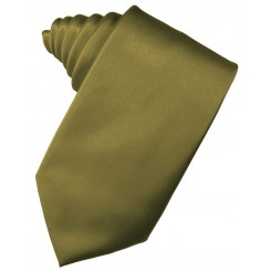 Fern Solid Satin Suit Tie