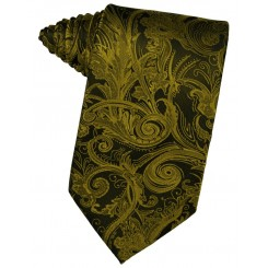 New Gold Tapestry Suit Tie