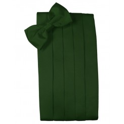 Hunter Solid Satin Cummerbund