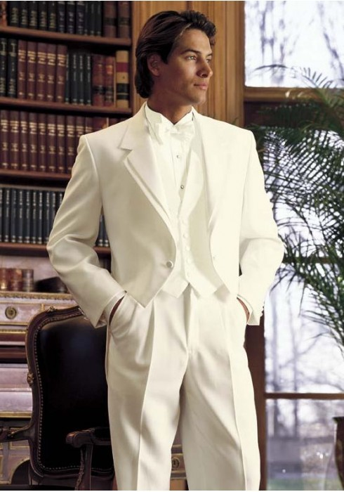 5ef1bdf9a3d Tailcoat' Ivory Full Dress Tails Tuxedo Jacket by After Six
