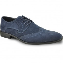 'Roland' Wing-Tip Oxford in Blue