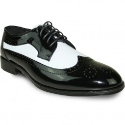 Premium Gloss Black & White Wing Tip