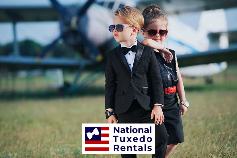 Kids Formal Wear Available at National Tuxedo Rentals