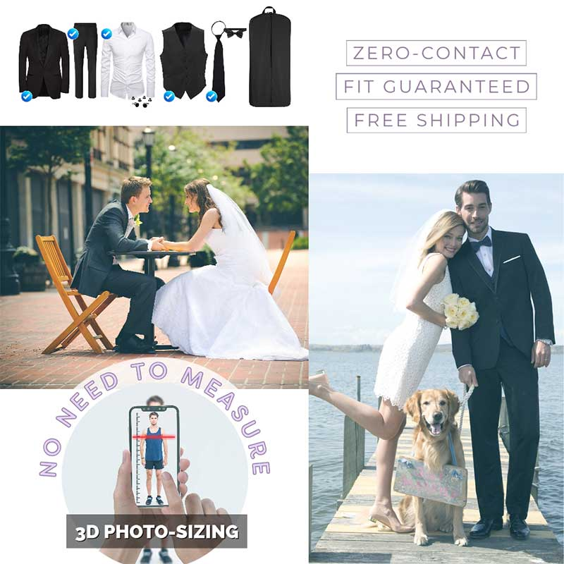3D Photo Sizing - Zero Contact Suit Sizing