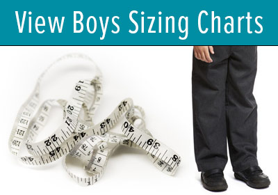 Jump to Boy's Sizing Charts