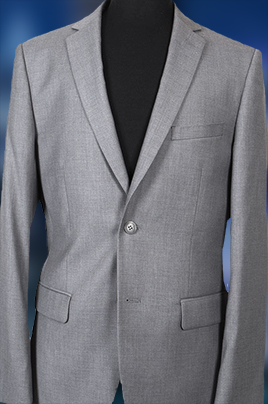 Heather Grey Aspen Suit Jacket