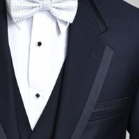 Shop Navy-Colored Rental Tuxedo Jackets