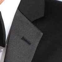 Shop Rental Tuxedo Jackets with Notch Lapels