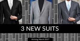 Announcing Our 2017 Suit Additions